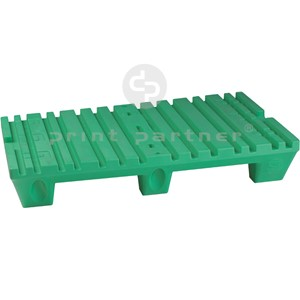 Plastic pallet for EZturner devices