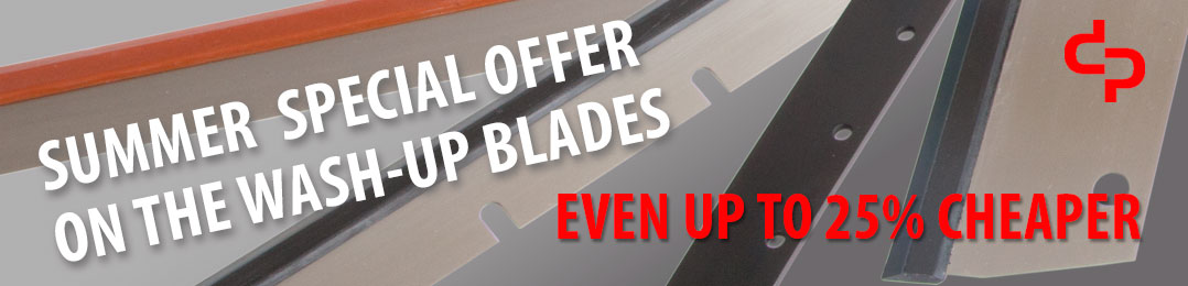 Summer Special Offer On The Wash-up Blades | Even up to 25 percent cheaper